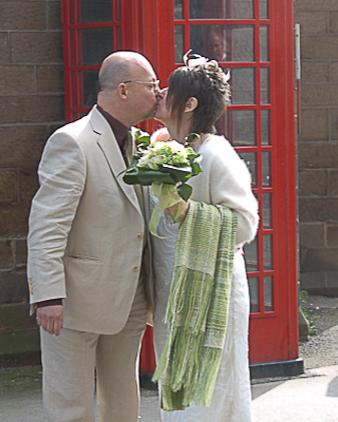 Heidi and Mike's Buxton wedding