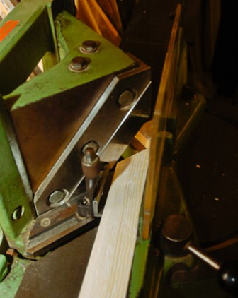 Picture framing machinery