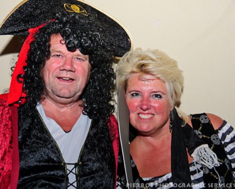 Cromer carnival fancy dress pirate and his wife