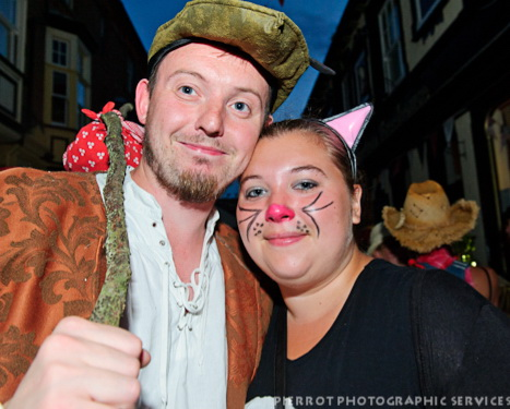 Cromer carnival fancy dress Dick Whittington and his cat
