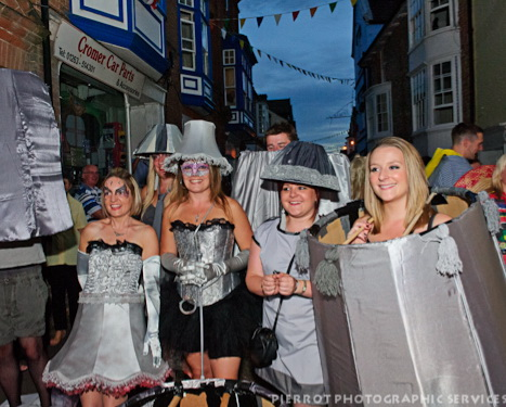 Cromer carnival fancy dress more 50 shades of grey