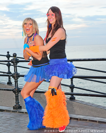 cromer carnival fancy dress two cheeky girls