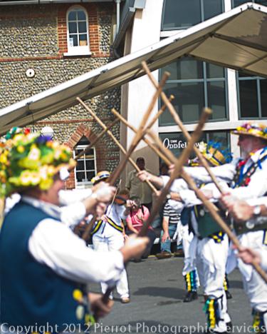 Sheringham Pottymen - Potty festival. Sheringham, North Norfolk