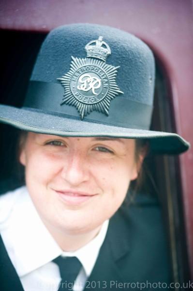 Metropolitan police woman