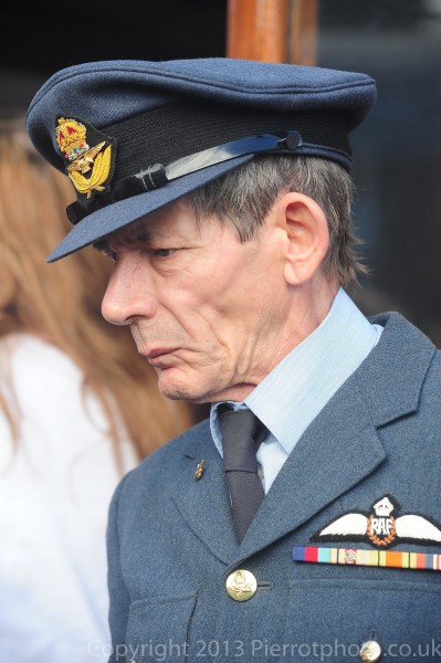 Older man in RAF uniform