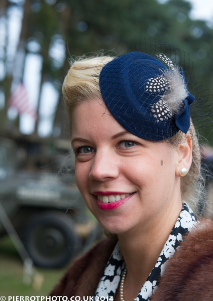 1940s weekend in Sheringham North Norfolk 2014 - pretty young woman