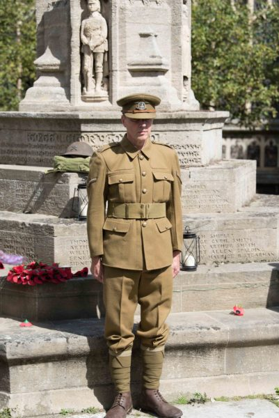 100 year of Passchendaele - 24 hour vigil at Cromer church