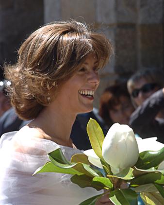 Beautiful Milanese bride