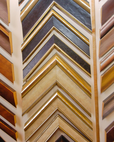 Various high quality solid wooden picture frames