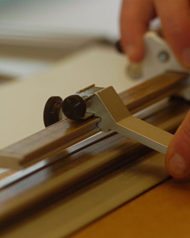 Printing and picture framing - preparing the frame