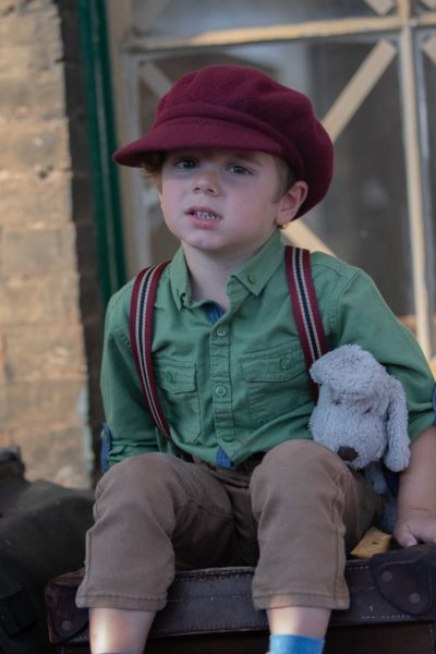 Little boy lost at Sheringham 1940s weekend